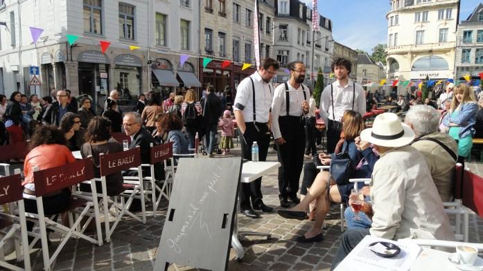 Arras - Place du Théâtre - Faites de la Chanson - Garçons, s'il vous plait !