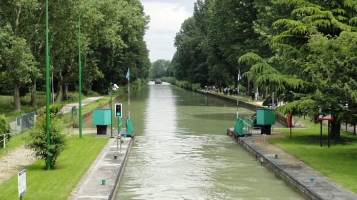 Canal de Chelles - Ecluse