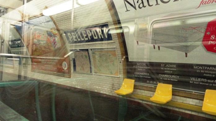 La ligne 3 bis - Station Pelleport