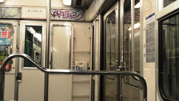 La ligne 3 bis - Intérieur, Rame