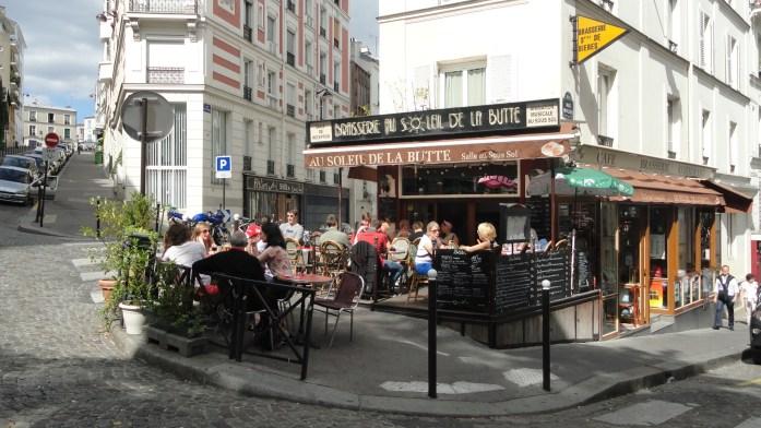 Café Au Soleil de la Butte