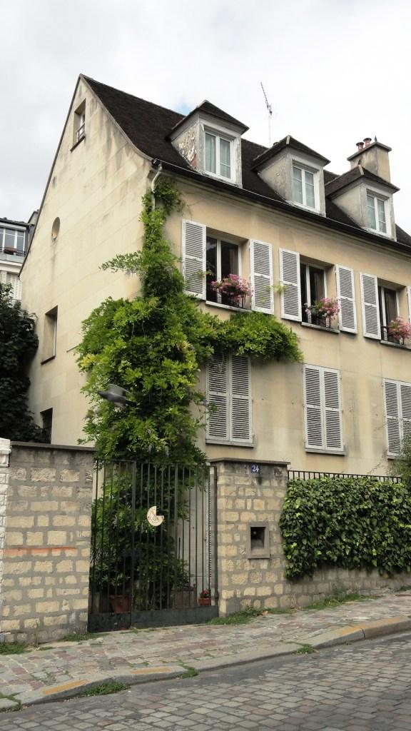 Montmartre - Maison, rue Saint Vincent