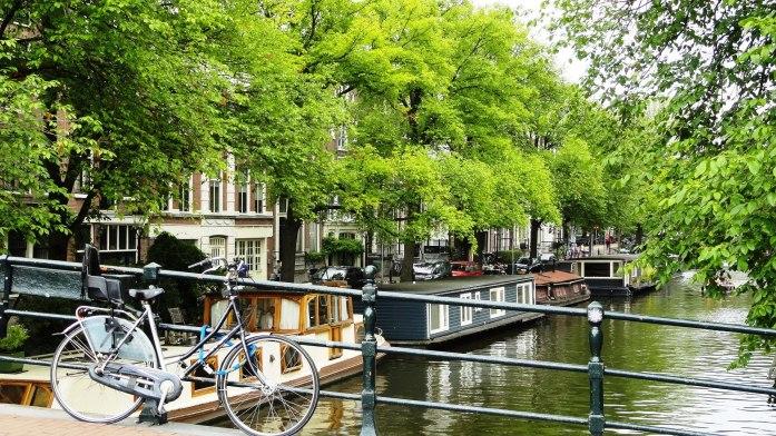 Amsterdam - Canaux et vélo