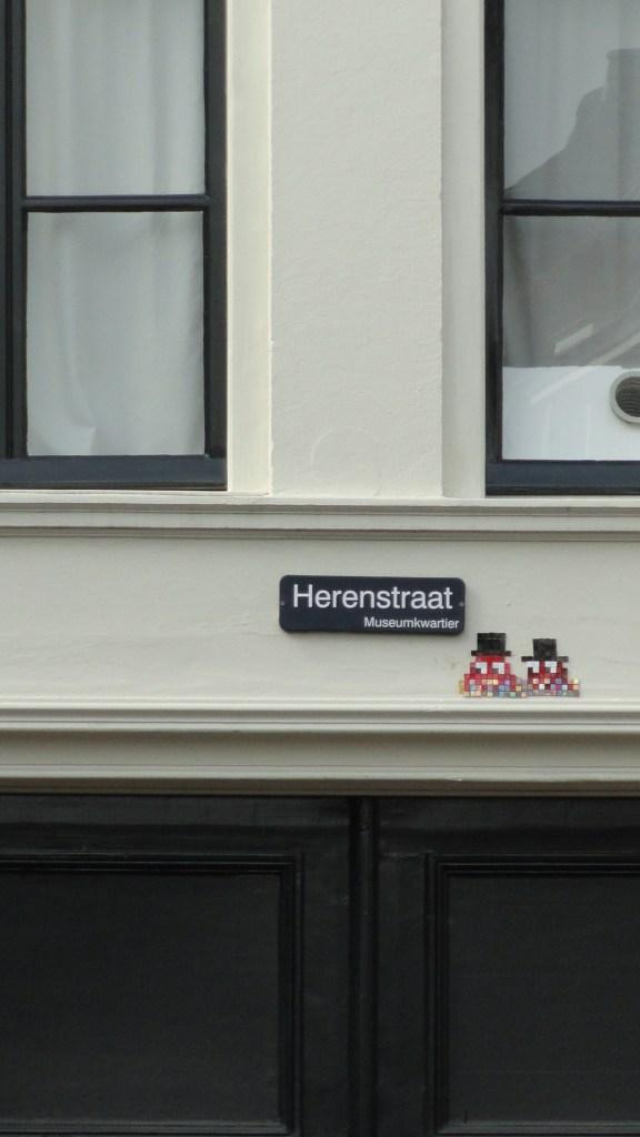 Utrecht - Herenstraat - Space Invaders