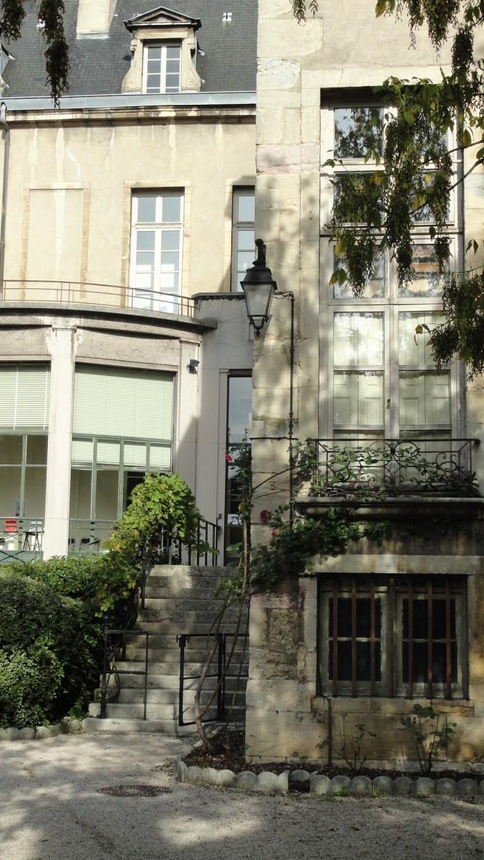 Dijon - Jardin intérieur
