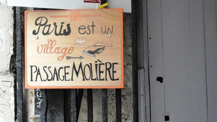 """Passage Molière - """"Paris est un village"""""""
