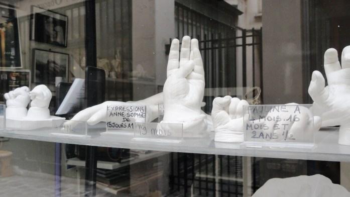 Passage Molière - Des Pieds et des Mains - Moulages
