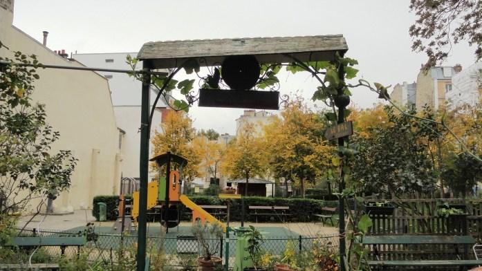Square des deux Nèthes, Paris 18e - Jardin Partagé