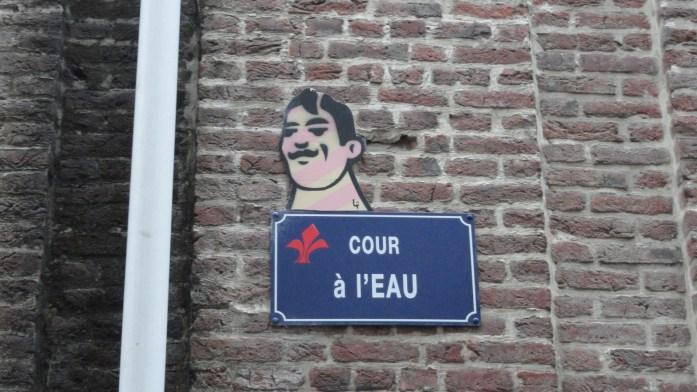 Vieux Lille - Cour à l'eau - Street art