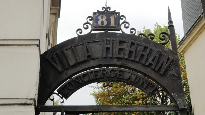 Villa Herran, Paris 16e