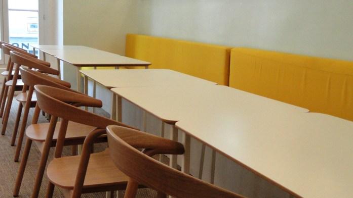 Café MADAM, rue Saint Denis - Salle du haut