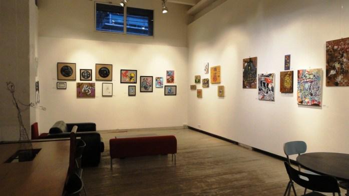 L'Aiguillage Galerie - Les Frigos - Paris 13e - Exposition In & Out