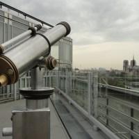 Vues de Paris #3 La terrasse de l'Institut du Monde Arabe