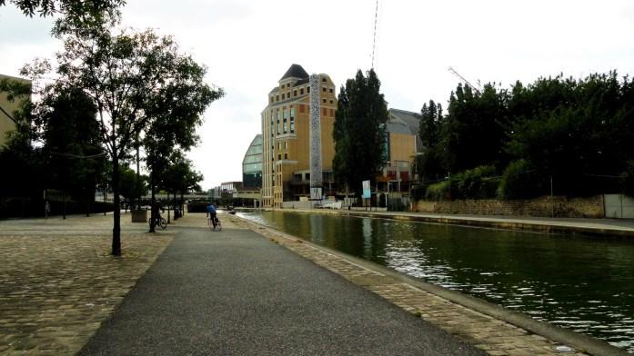 Canal de l'Ourcq - Pantin - Grands Moulins