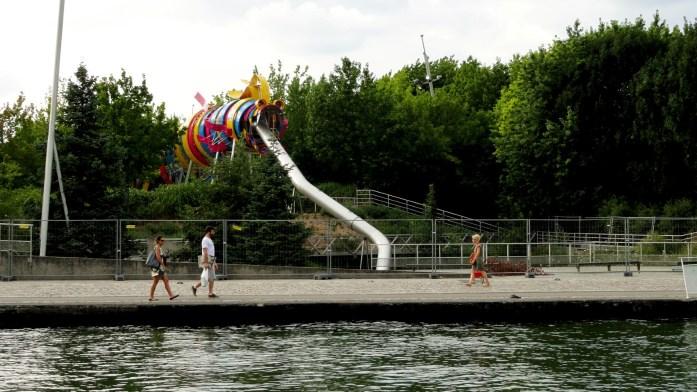 Canal de l'Ourcq - Paris - Parc de la Villette