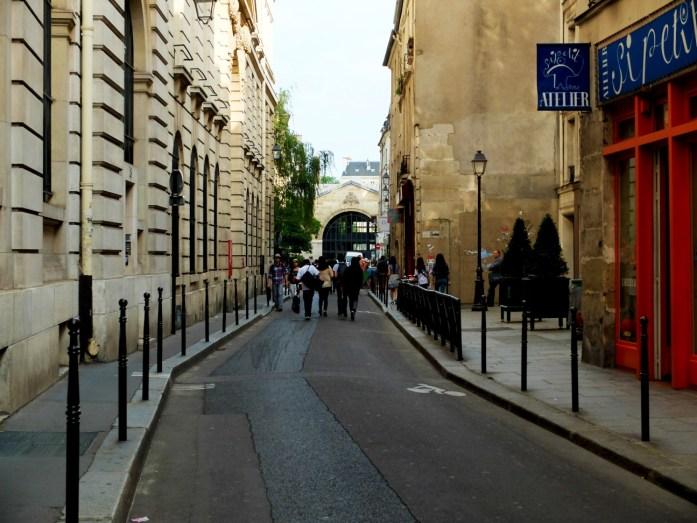 Balade dans le Marais - Rue des Blancs Manteaux