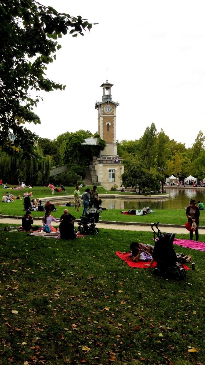 Balade dans le 15e - Parc Georges Brassens