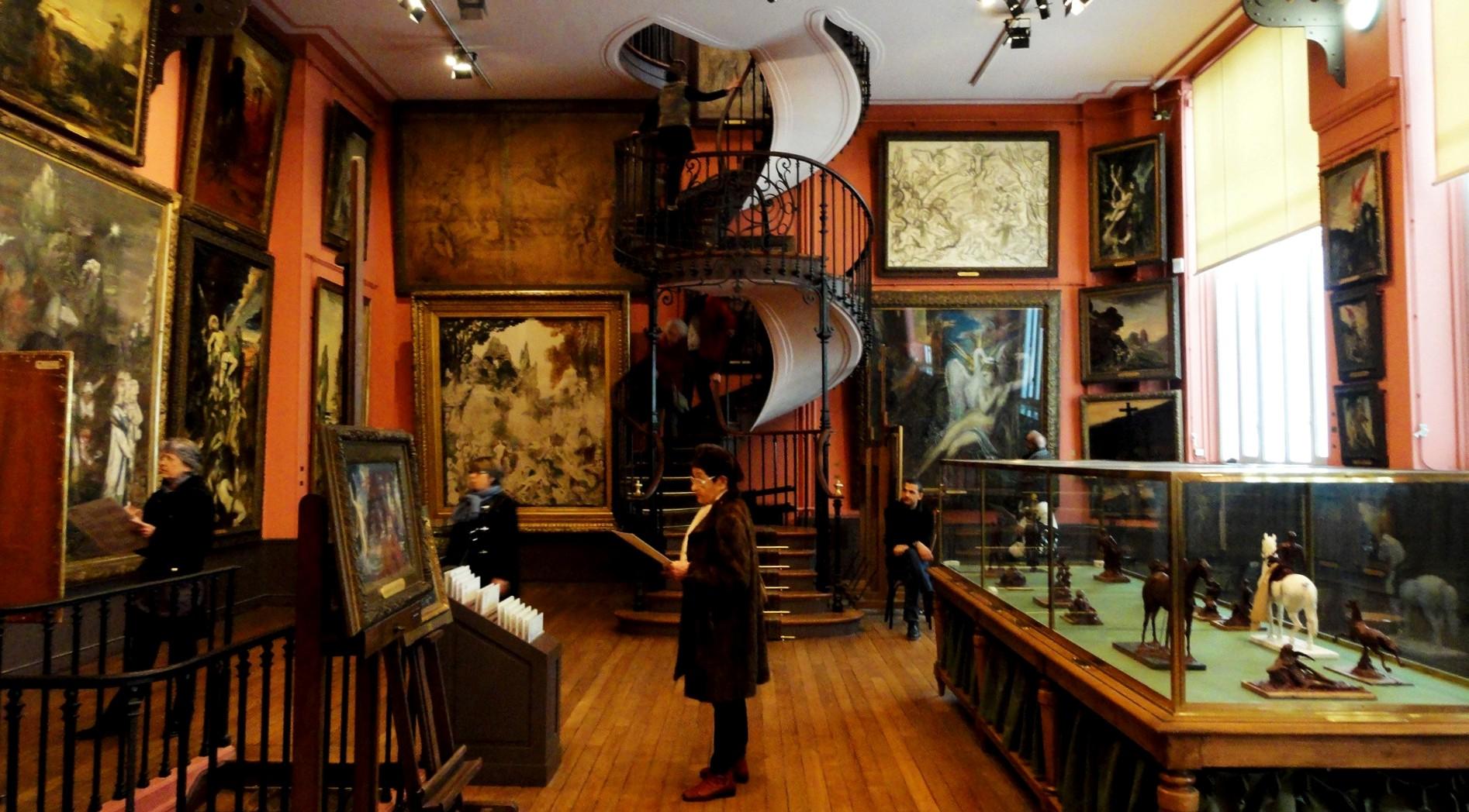 Le Muse Gustave Moreau  Un petit pois sur dix