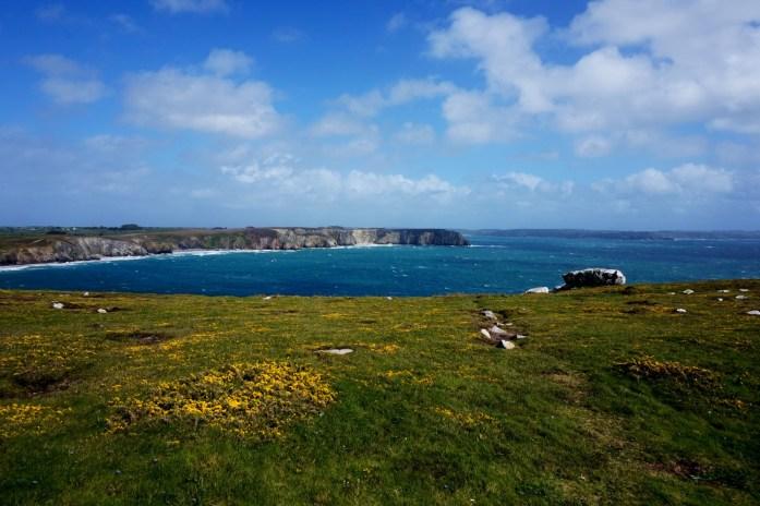 Vacances dans le Finistère Sud - Camaret-sur-Mer - depuis la Pointe de Pen-Hir