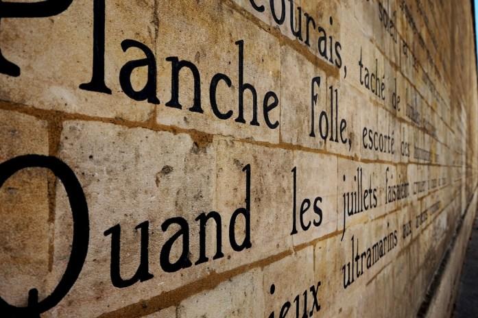Le Bateau Ivre sur les murs - Paris 6e