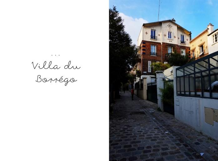 Balade dans le 19e et 20e - Villa du Borrégo