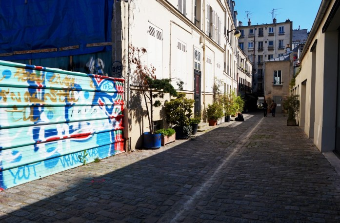 Balade dans le 11e - Rue Saint Bernard