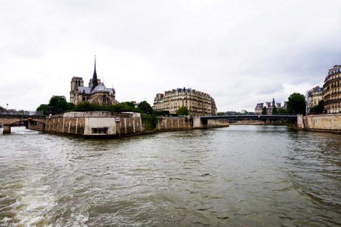 Croisière sur la Seine - Bateaux Parisiens - Ile de la Cité