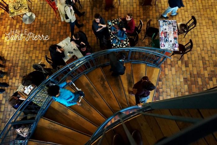 Balade dans le 18e - En bas de la butte Montmartre - Halle Saint Pierre