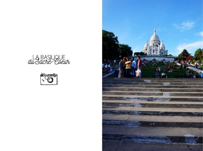 Balade dans le 18e - En bas de la butte Montmartre - Sacré Coeur