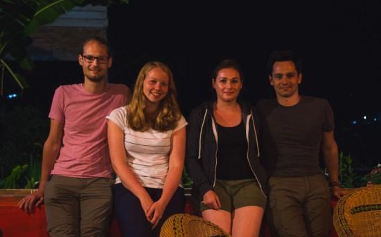 Alex, Romy, Ariane, Damien