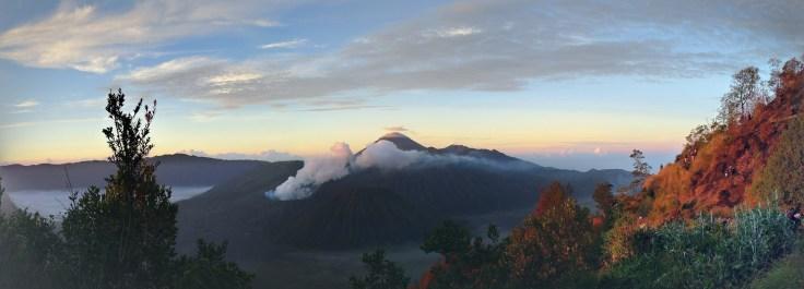 Bromo - lever du soleil