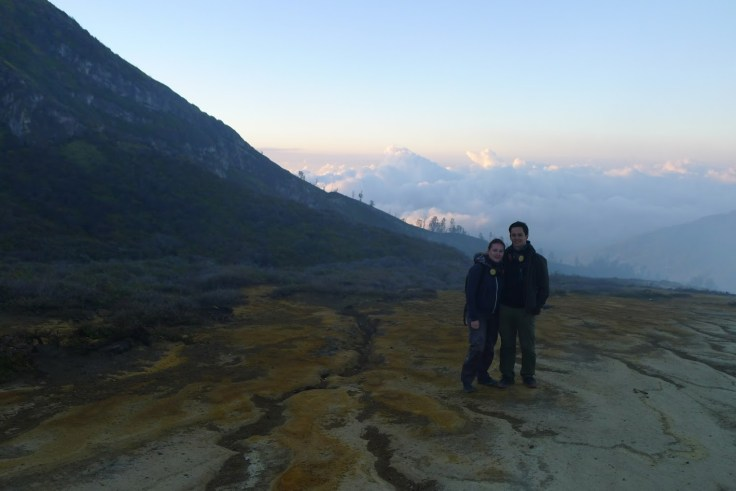 Kawah Ijen - touristes