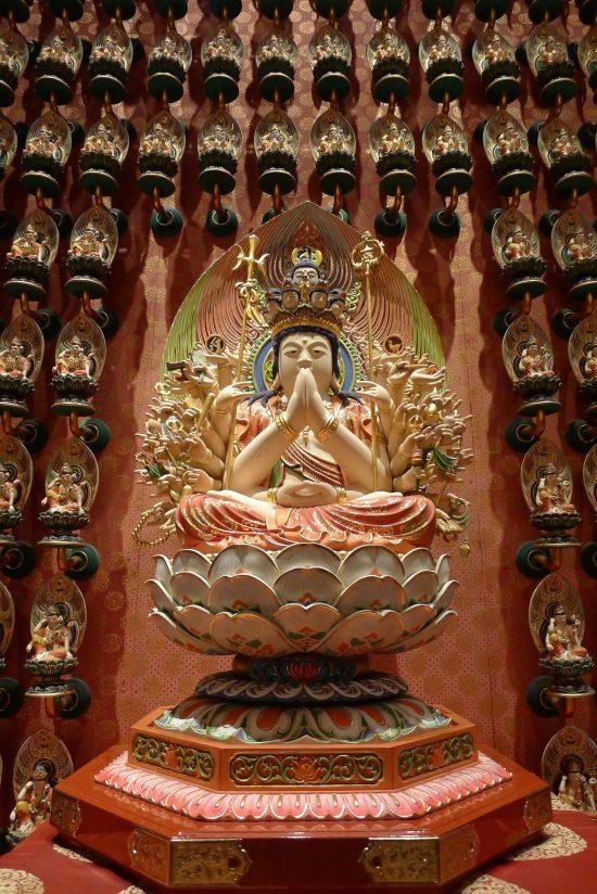 Des bouddhas partout !