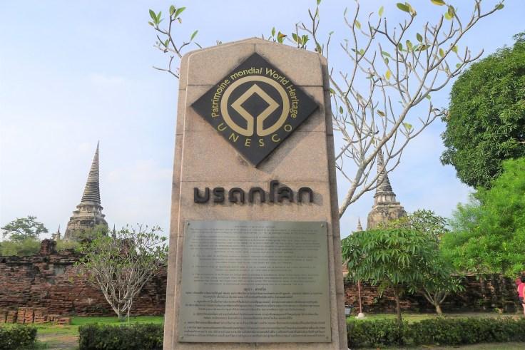 Ayutthaya - Unesco