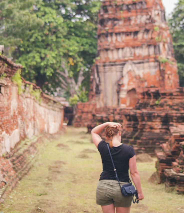 Lara Croft à Ayutthaya
