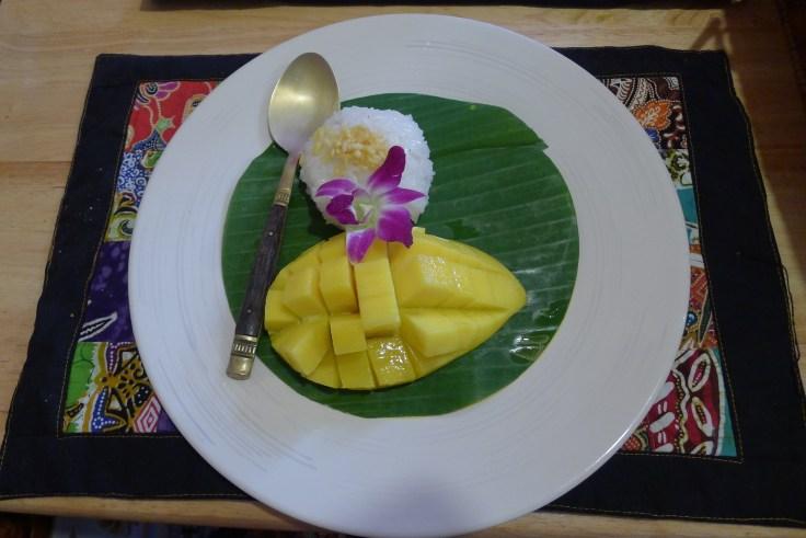 Passion Mango sticky rice <3