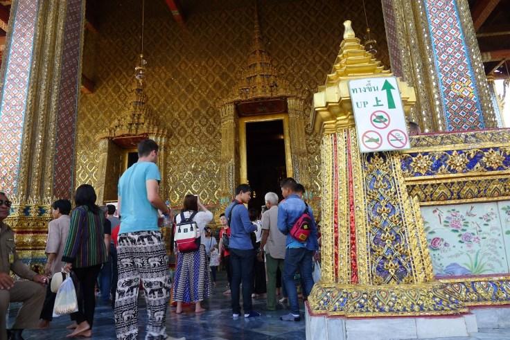 Royal Palace - Entrée du temple du Bouddha d'Emeraude