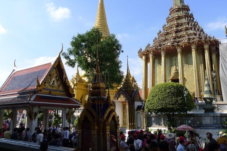 Royal Palace - Touristes