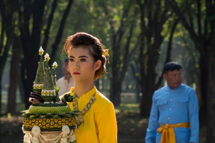 Loy Krathong Sukhothai défilé