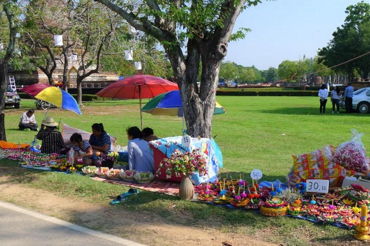 Loy Krathong Sukhothai krathongs