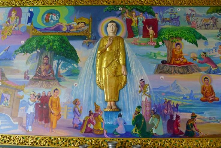 Myanmar - Yangon - Chauk Htat Kyi Pagoda