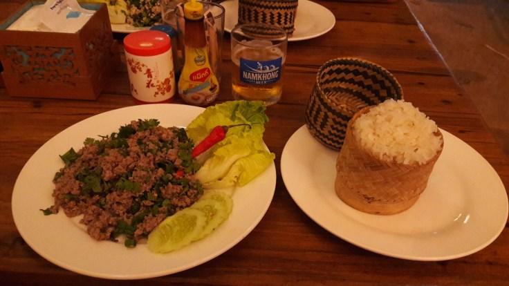Laos Luang Namtha - Larb