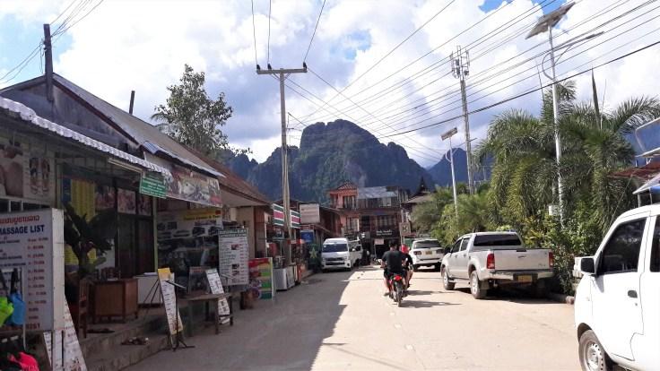 Laos - Vang Vieng - Streets