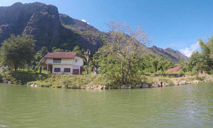 Laos - Vang Vieng - Kayak