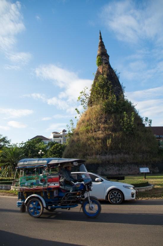 Laos - Vientiane - Black Stupa