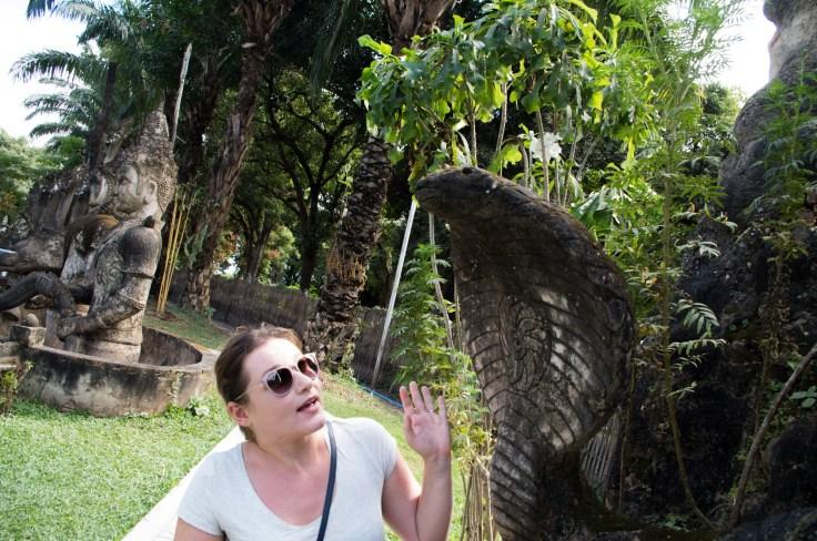 Laos - Vientiane - Buddha Park - Ariane