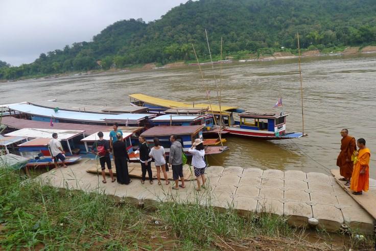 Luang Prabang Pak Ou Mekong boats