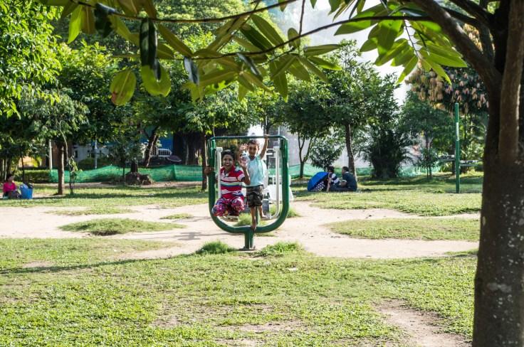 Myanmar - Yangon - Maha Bandula Park