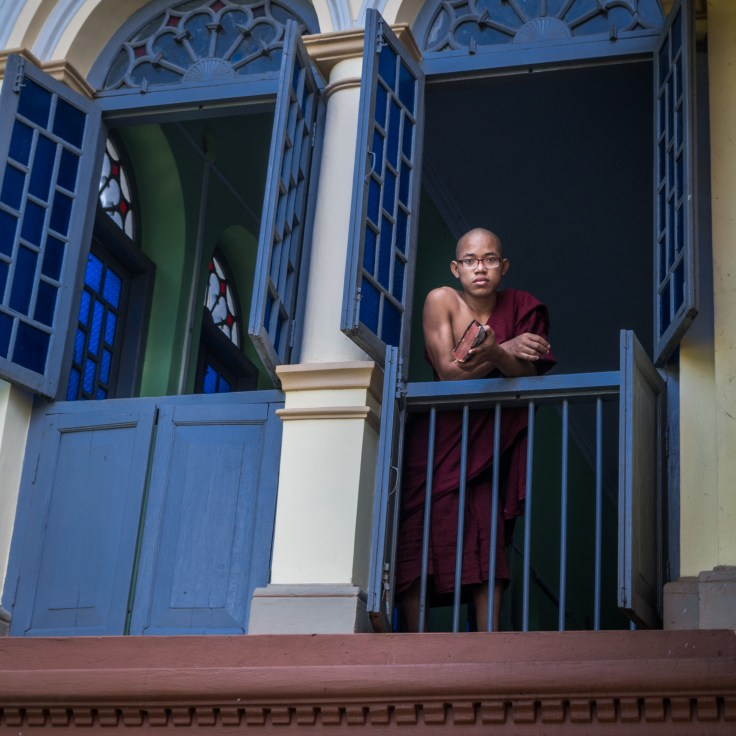Myanmar - Yangon - Monastère