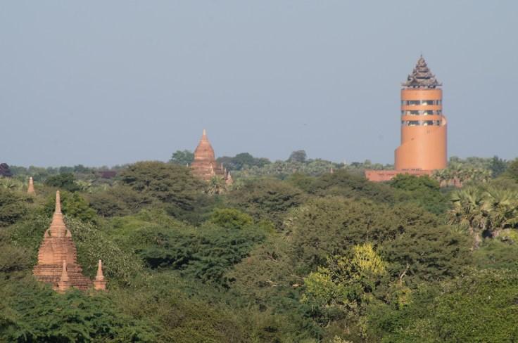 Bagan - Viewing Tower